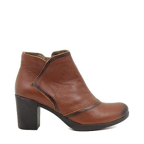 3085d9fa757 YOKONO VIRTU-060 Botin Tacon Medio Mujer Cuero 34  Amazon.es  Zapatos y  complementos