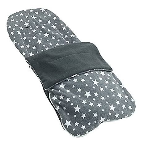 Snuggle - Carcasa verano saco compatible con Stokke Scoot Crusi Trailz - gris Star: Amazon.es: Bebé