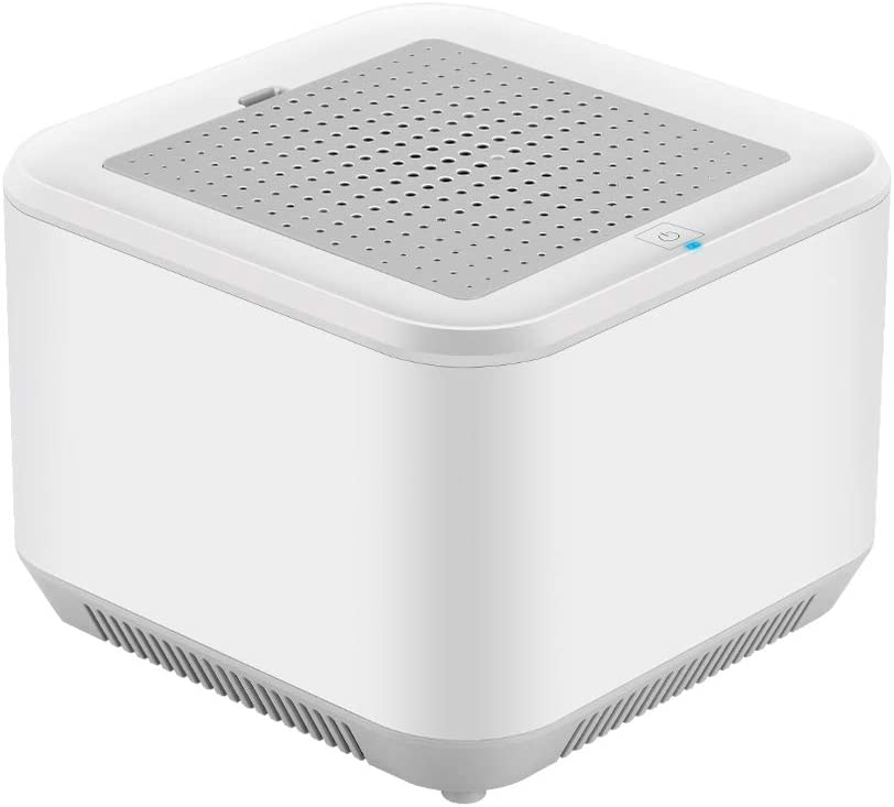 Ninuo Air Purifier with UVLamp - True HEPA Filter Air Purifiers for Home Bedroom, Kitchen, Office - Large Room 500 Sq.Ft Allergy Air Cleaner, 99.9% Dust Remover and Deodorizer for Pets, Smokers