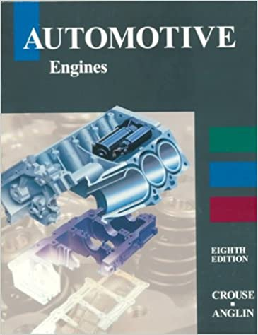 Automobile Engineering By William Crouse Pdf