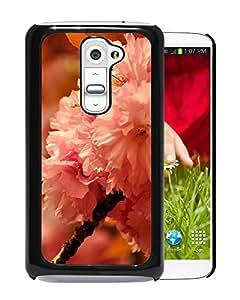 New Beautiful Custom Designed Cover Case For LG G2 With Sakura Phone Case