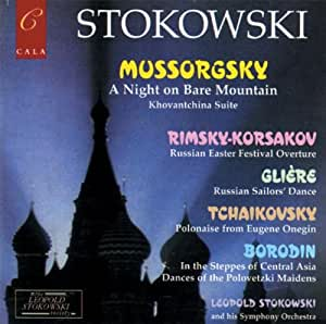 Stokowski conducts: Night on Bare Mountain and other Russian works