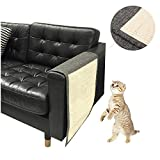 KECUCO Cat Scratching Mat Pet Scratch Protector Cat Scratch Mat Sofa Shield, Cat Scratching Pad - Love Your Cat and Protect Your Sofa Couch