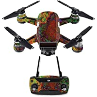 Skin for DJI Spark Mini Drone Combo - Rust| MightySkins Protective, Durable, and Unique Vinyl Decal wrap cover | Easy To Apply, Remove, and Change Styles | Made in the USA