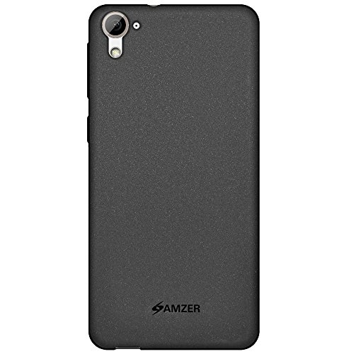 Amzer Pudding Soft Gel TPU Skin Fit Case Cover for HTC Desire 826 - Retail Packaging - Black