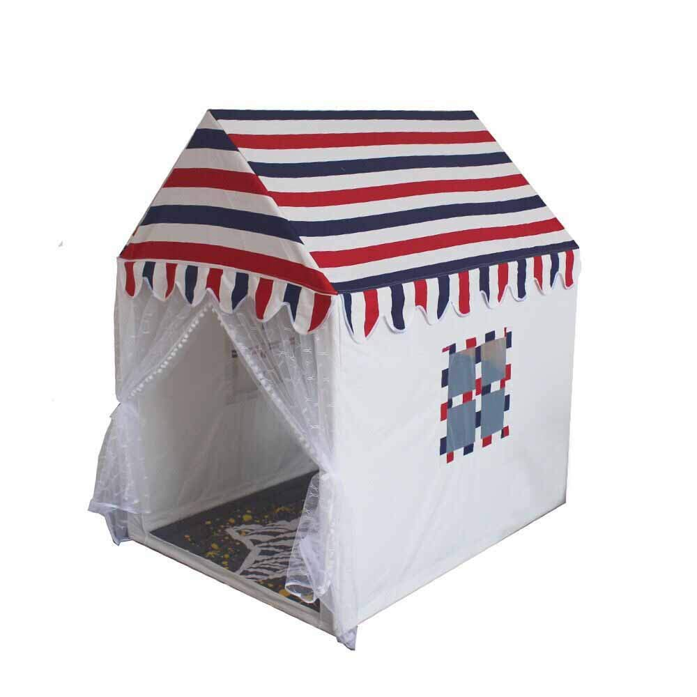 bajo precio del 40% 12595140cm Algodón para niños Tienda de Madera Maciza Casa Casa Casa pequeña para Exteriores Casa de Juegos para niñas al Aire Libre  de moda
