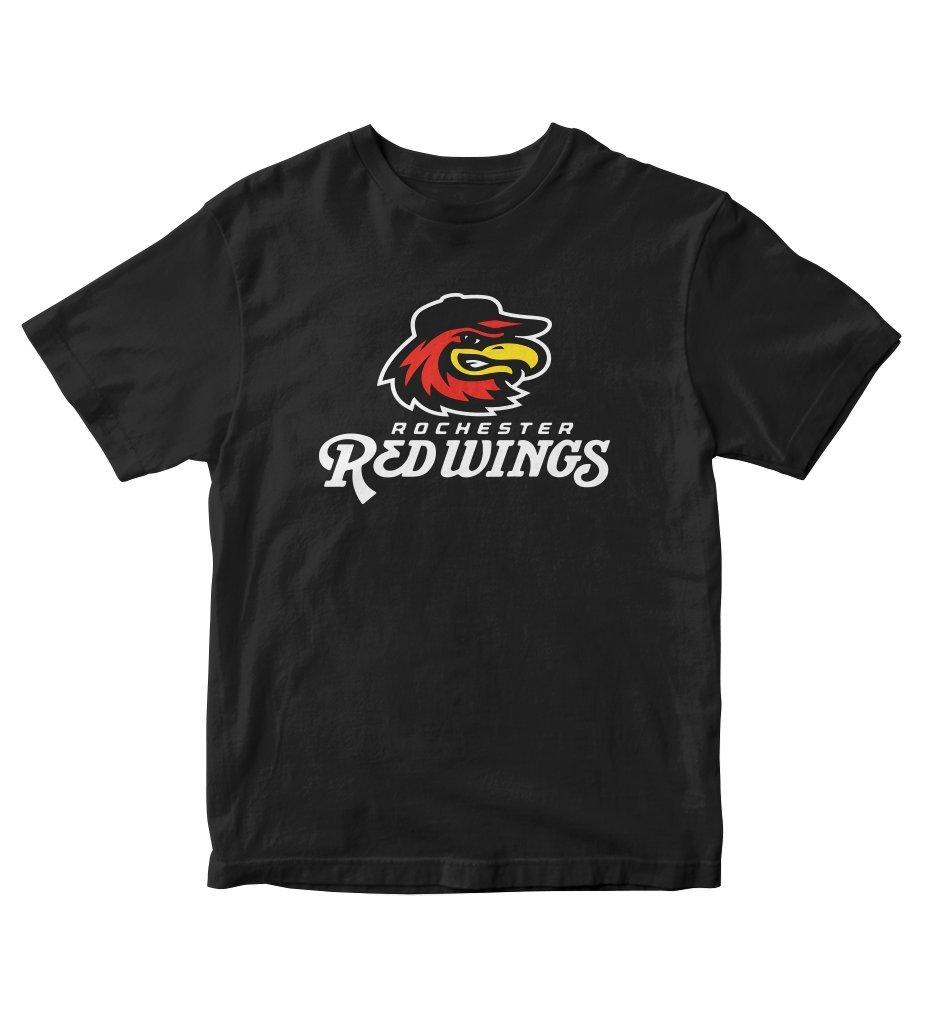 Rochester Red Wings Baseball Black Shirt S