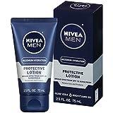 NIVEA Men Maximum Hydration Protective Lotion SPF 15, 2.5 Fluid Ounce (Pack of 4)