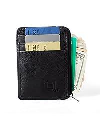 RFID Wallet Mini for Men and Women - Black
