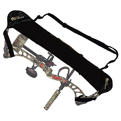 BowSlicker System - Weatherproof Bow Sling, Cam and String Protector- Black