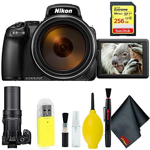 Nikon COOLPIX P1000 Digital Camera + 256GB Sandisk Extreme Memory Card Base Kit International Model Review