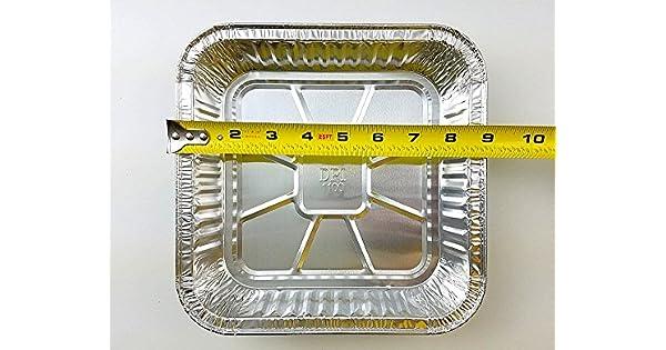 Amazon.com: Durable embalaje Square Foil de Aluminio Pastel ...