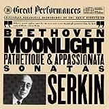 Beethoven: Moonlight, Pathetique & Appassionata Piano Sonatas, Opp. 13, 27:2, 57