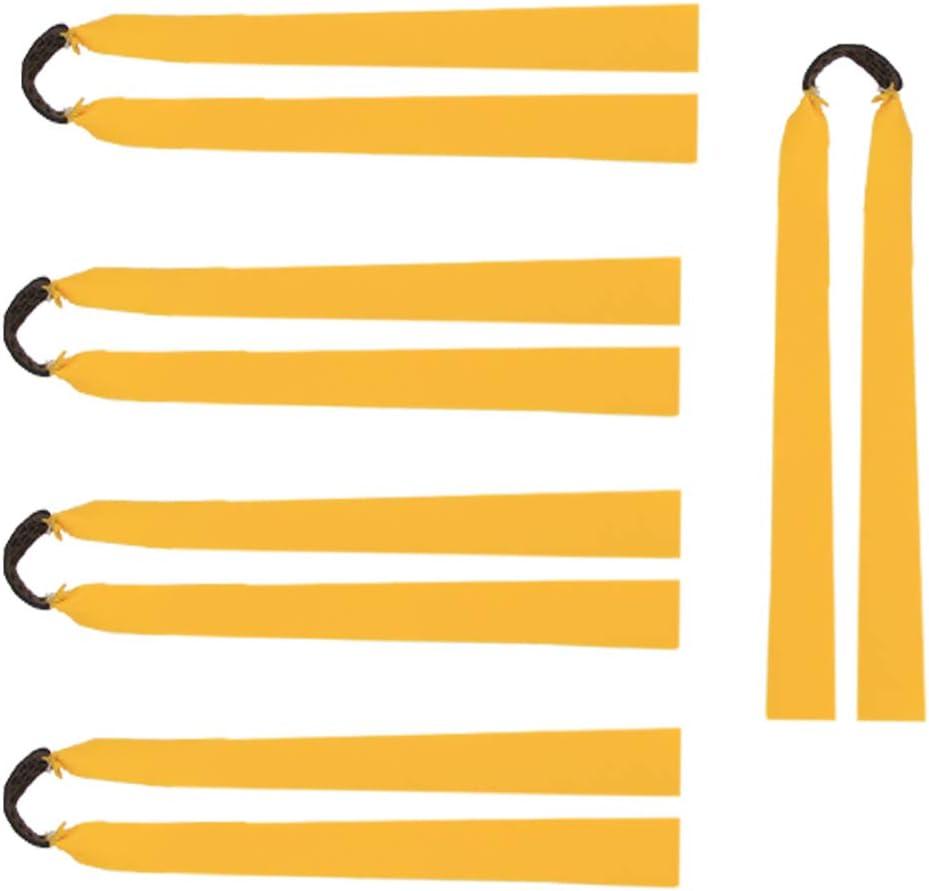 10pcs// Set Red Strong Slingshot Elastic Rubber Band Catapult Wide Elastic Straps