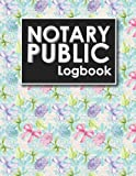 Notary Public Logbook: Notarial Register