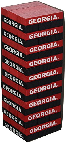 (Wild Sports NCAA College Georgia Bulldogs Table Top Stackers)