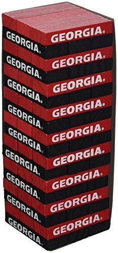 Wild Sports NCAA College Georgia Bulldogs Table Top Stackers Game
