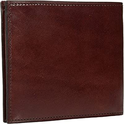 Bosca Men's Old Leather Collection - Eight-Pocket Deluxe Executive Wallet w/Passcase