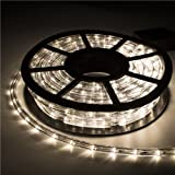 Ainfox LED Rope Light, 100Ft 1080 Leds Indoor Outdoor Waterproof LED Strip  Lights Decorative Lighting
