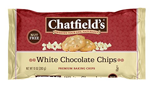 Chocolate Vanilla Chips - Chatfield's All Natural Baking Chips, White Chocolate, 10 Ounce