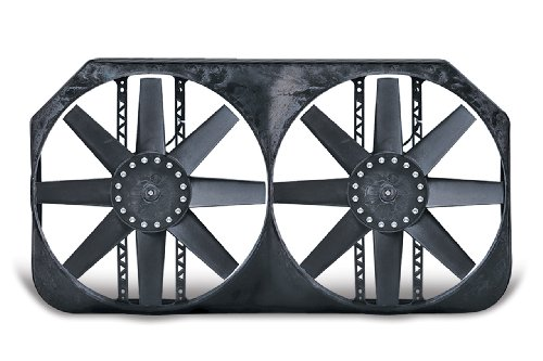 Chevy Suburban Truck Radiator - Flex-a-lite 282 '00-'04 Chevy Truck Fan (for 34