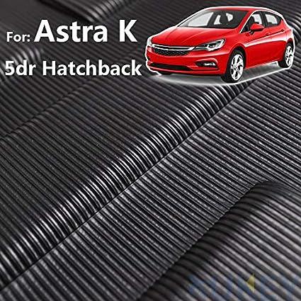 Xukey Kofferraumwanne Für Astra K Schrägheck Maßgeschneiderte Kofferraumwanne Kofferraumwanne Bodenmatte Teppich Wasserfest Auto