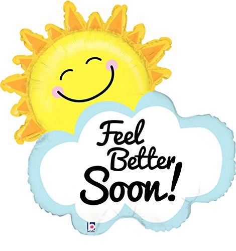 Betallic Feel Better Soon Sunshine Balloon, 31