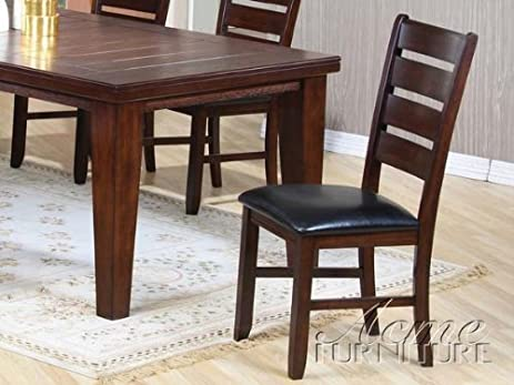 Amazon.com - Set of 2 Dining Chairs in Cherry Finish - Chairs