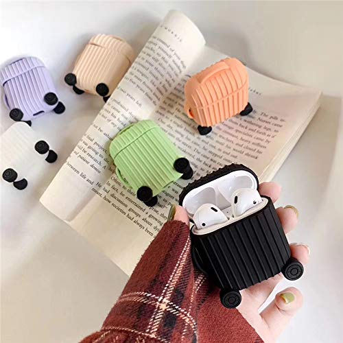 Jocci for Airpods 1&2 Case,Cute 3D Funny Cartoon Character