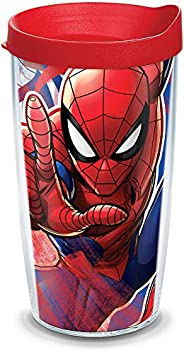 Tervis Marvel-Spider-Man Made in USA Double Walled Insulated Tumbler, 16oz, Iconic