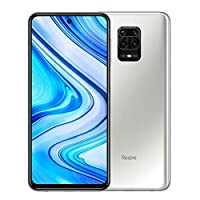 Xiaomi Redmi Note 9 Pro 128GB + 6GB RAM, 6.67″ FHD+ DotDisplay, 64MP AI Quad Camera, Qualcomm Snapdragon 720G LTE Factory Unlocked Smartphone – International Version (Glacier White)
