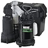 Wayne 1/2 HP Battery Backup Sump Pump System