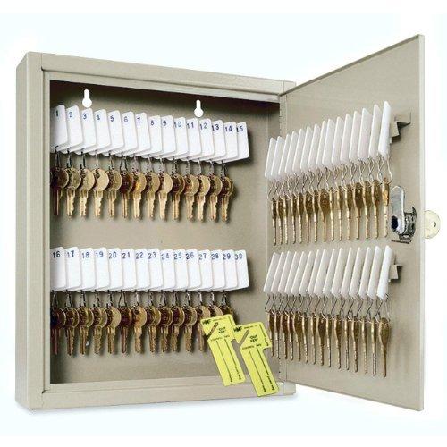 STEELMASTER Unitag Locking 10-Key Cabinet, 6.88 x 6.75 x 2 Inches, Sand (201901003) Style: 10-Key, Model: 201901003, Office/School Supply Store