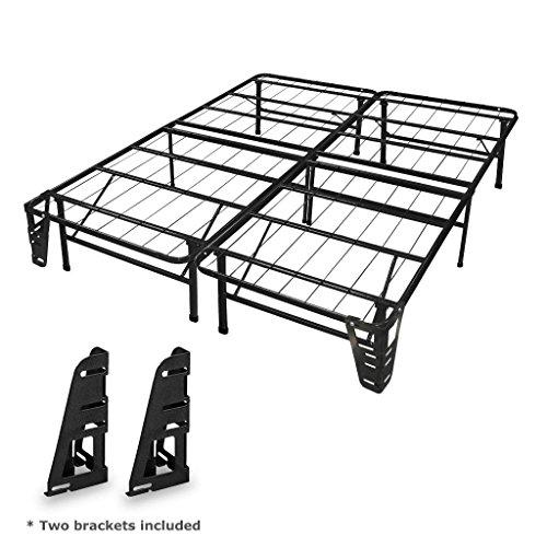 metal bed frame king brackets - 5
