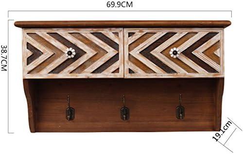 LYQZ Percheros de Madera Maciza Decorativos estantes ...