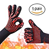 Best Grilling Gloves For Cooking - Youmeet Heat Resistant Gloves BBQ Grilling Oven Mitts Review