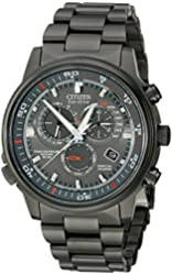 "Citizen Men's AT4117-56H ""Nighthawk A-T"" Stainless Steel Eco-Drive Watch"