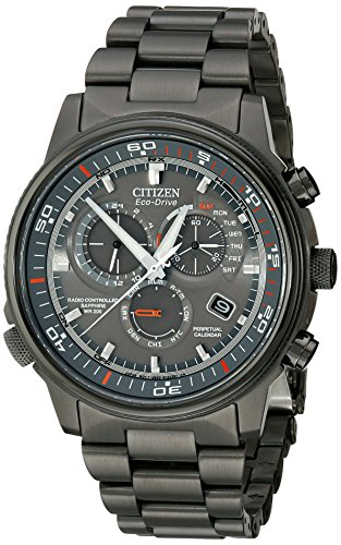 Citizen AT4117 56H Nighthawk Stainless Eco Drive