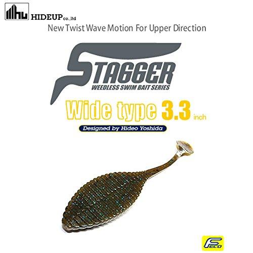 FECO認定商品 ハイドアップ(HIDEUP) スタッガーワイド 3.3インチ ・103グリーンパンプキンの商品画像