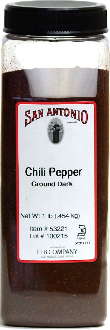 1-Pound Premium Ground New Mexico Dark Chile Pepper Chili Powder