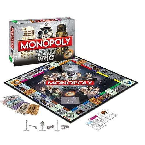 Monopoly: Dr. Who Edition 50th Anniversary Collector's Edition