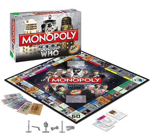 Anniversary Collectors Edition Monopoly - Monopoly: Dr. Who Edition 50th Anniversary Collector's Edition