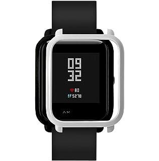 Fossrn Protector Case para Xiaomi Huami Amazfit Bip Youth Watch (Plateado)