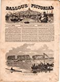 img - for Ballou's Pictorial Drawing-Room Companion,June 20, 1857. Boat Race on the Charles River; Edwin Booth; Poodle Training; Persian Horses; Sunshine; The Whaleship and the Cannibals; Parisian Theaters; Ancient Warfare; Old Italian Violin Makers; Battle of Albuera; Wood Gas; Witchcraft in Mississippi; Prince Halem Pacha's Sporting Steam Yacht; Boston Sardinian Cannon; Nashua (NH) Niagara Fire Engine Co. No. 5; Egyptian Shadoof for Irrigation; Blanchard's Timber-Bending Machine; Siamese; South Africa book / textbook / text book
