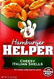 mozzarella cheddar cheese twists - Betty Crocker CHEESY ITALIAN SHELLS Hamburger Helper 6.1oz (5 Pack)