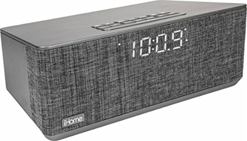 7af6149cdb6 Image Unavailable. Image not available for. Color  iHome iBT233 Bluetooth Dual  Alarm FM Radio Clock ...