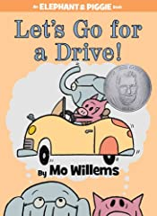 Gerald is careful. Piggie is not.Piggie cannot help smiling. Gerald can.Gerald worries so that Piggie does not have to.Gerald and Piggie are best friends.In Let's Go for a Drive! Gerald and Piggie want to hit the road! But the best-laid plans...