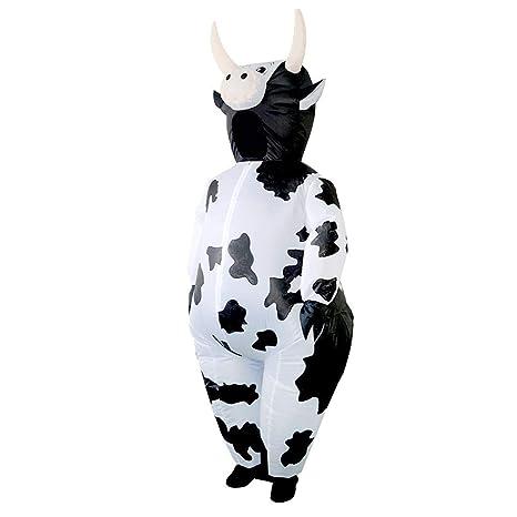 Matefield Disfraz Inflable Lindos Trajes de Vaca inflables ...