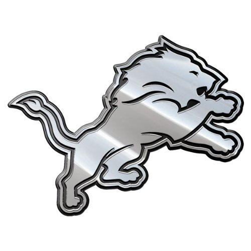 Detroit Lions Car 3D Chrome Auto Emblem