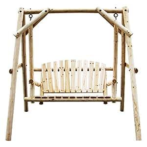 American Furniture Classics Log Swing In Natural